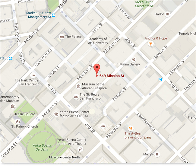Google Map of the location of the Offices of William E. Shapiro